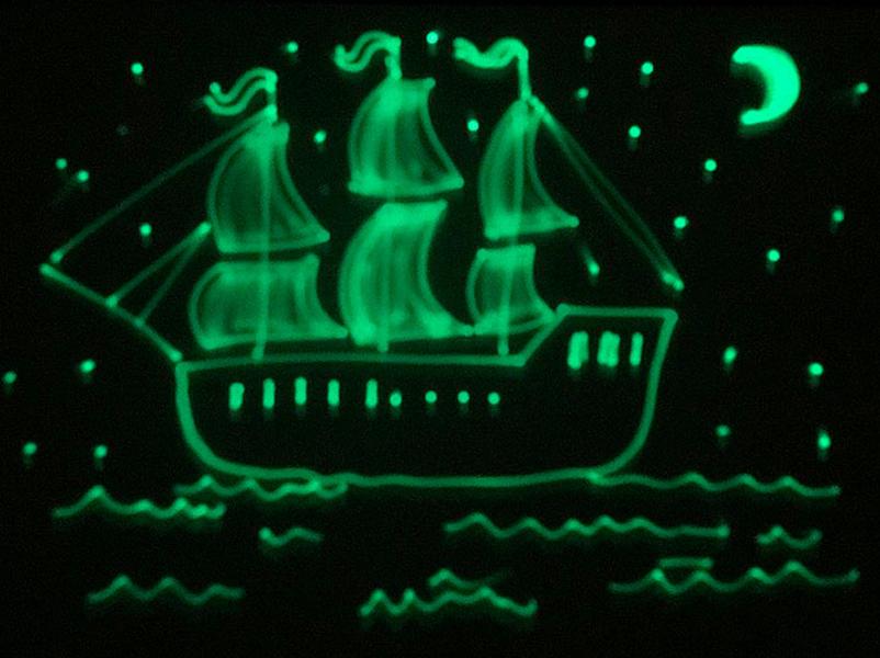Обзор планшета для рисования светом «Волшебный луч».
